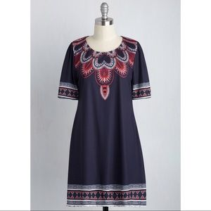 Modcloth Boho Vintage Inspired Dress